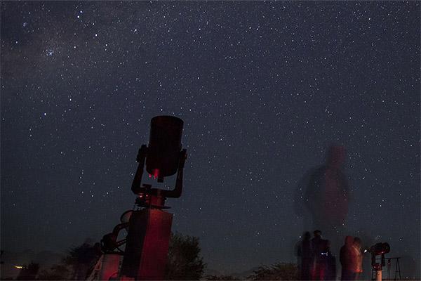 Stargazing event in Borrego Springs