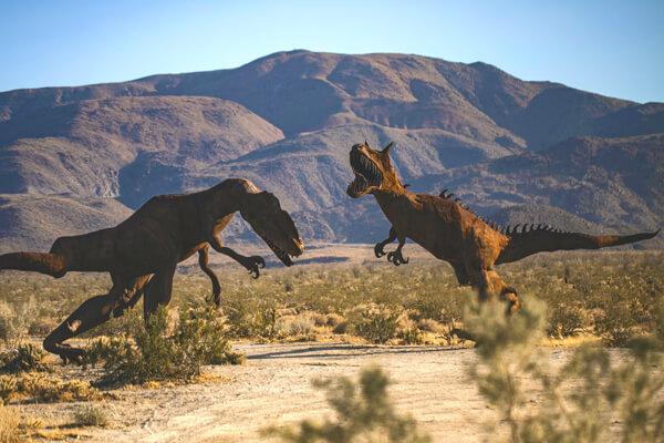 Dinosaurs in the Anza Borrego Desert | Ricardo Breceda |